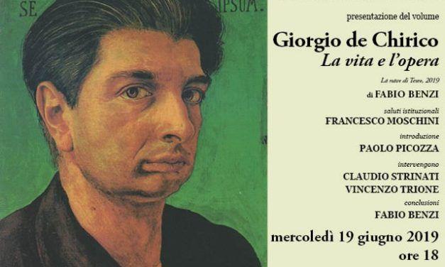 Presentazione del volume Giorgio de Chirico. La vita e l'opera di Fabio Benzi