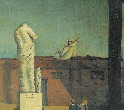 Presentation of the volume Giorgio de Chirico. Immagini metafisiche by Riccardo Dottori