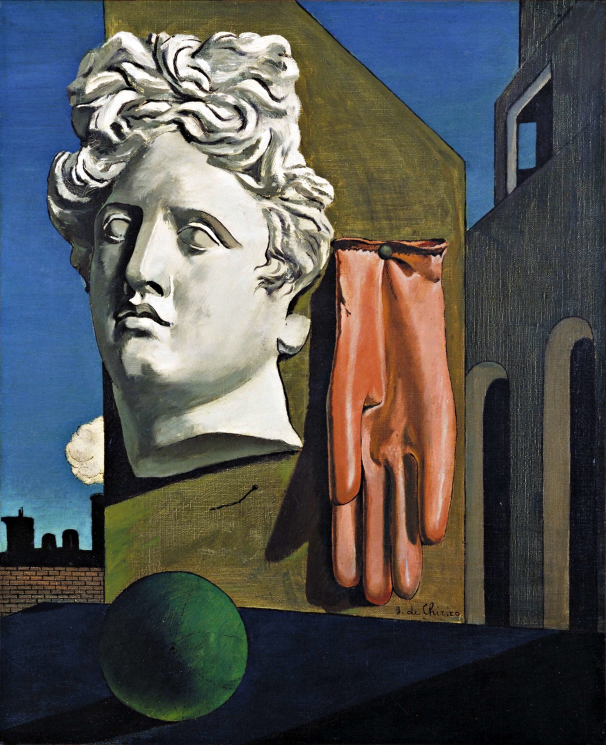 Canto d'amore di Giorgio de Chirico (1914, New York, The Museum of Modern Art) a cura di Riccardo Dottori