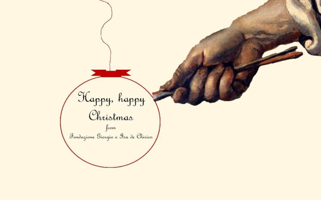 The Fondazione Giorgio e Isa de Chirico wishes you a joyful Christmas